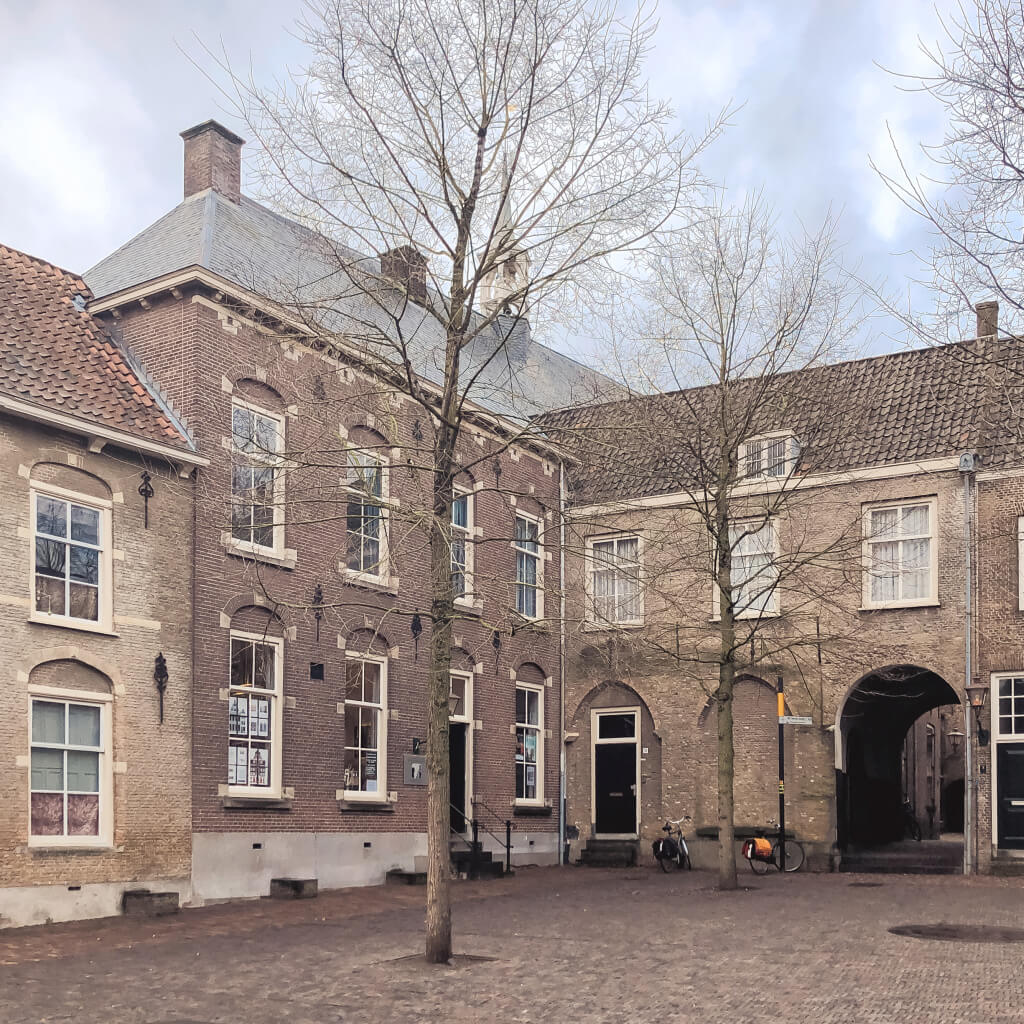 Oude gebouwen in Dordrecht