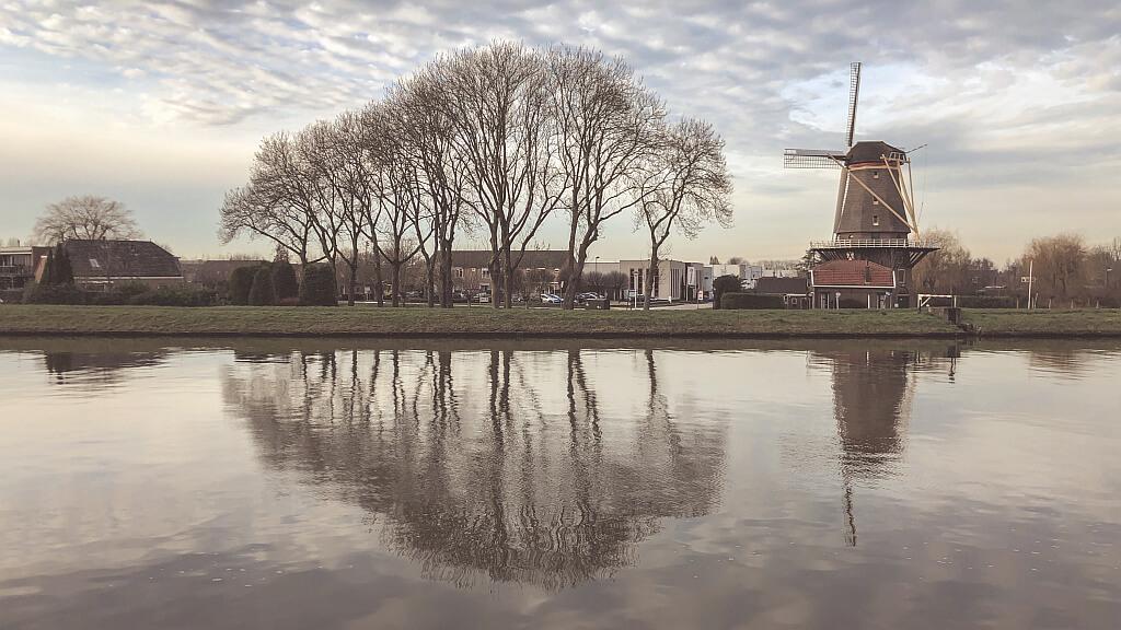 De molen bij Arkel