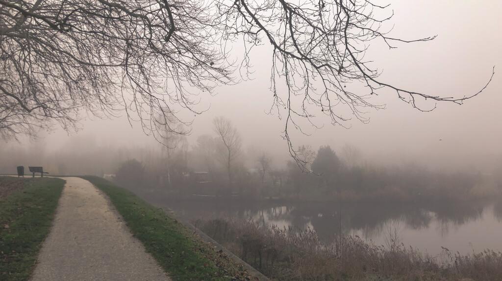 Mist op de Dalemwal