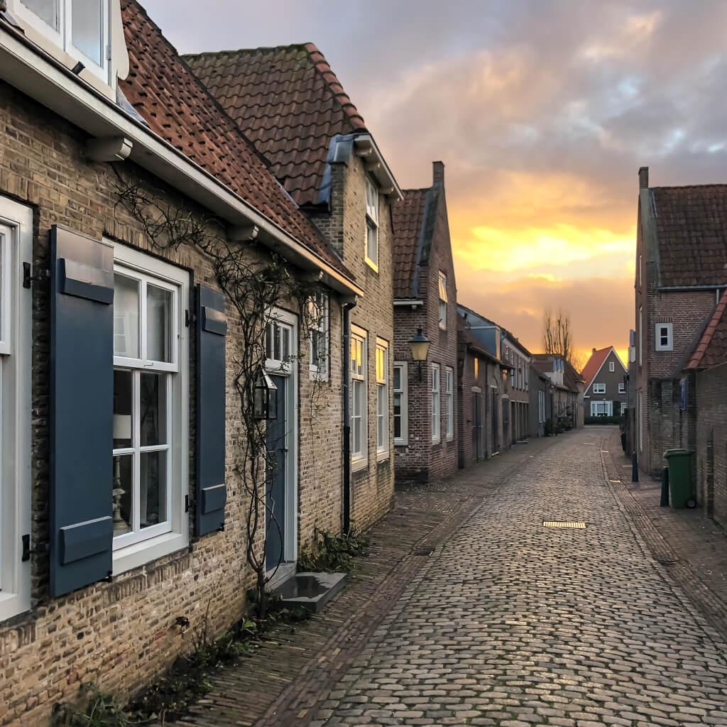 Straatje in Heusden