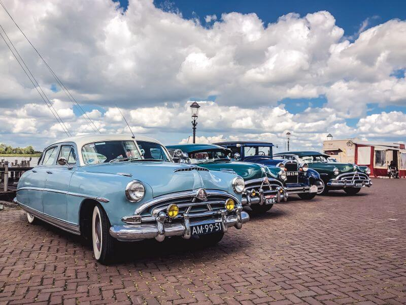 Oldtimers in Woudrichem