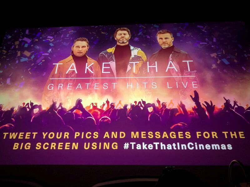 Take That in de bioscoop