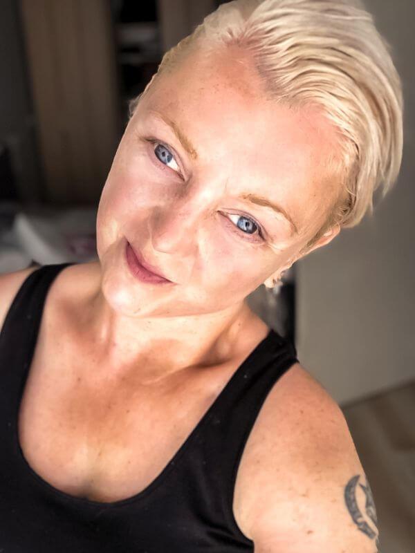 Selfie zonder make-up