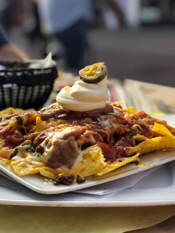 Eten bij de Mexicaan