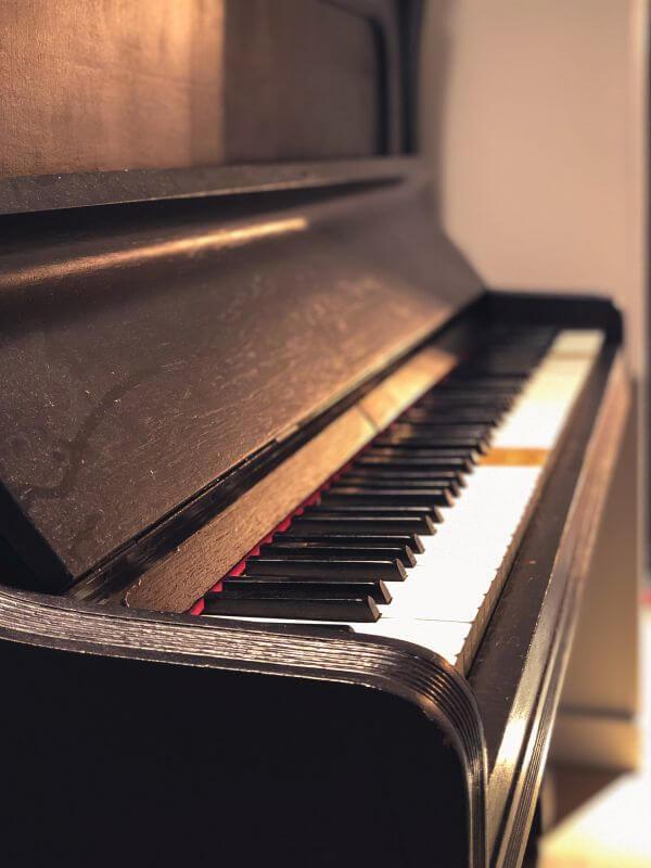 Piano bij IKEA