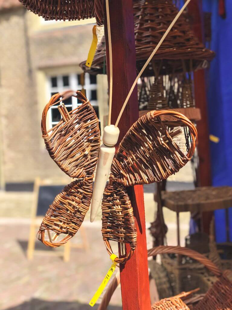 Vlinder van riet
