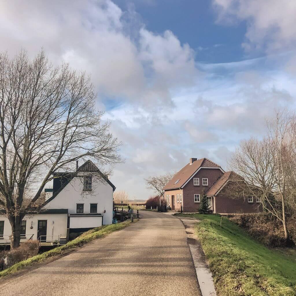 Dijk richting Herwijnen
