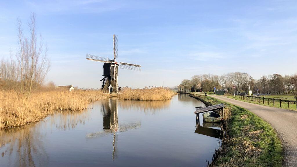 Een molen bij Lexmond