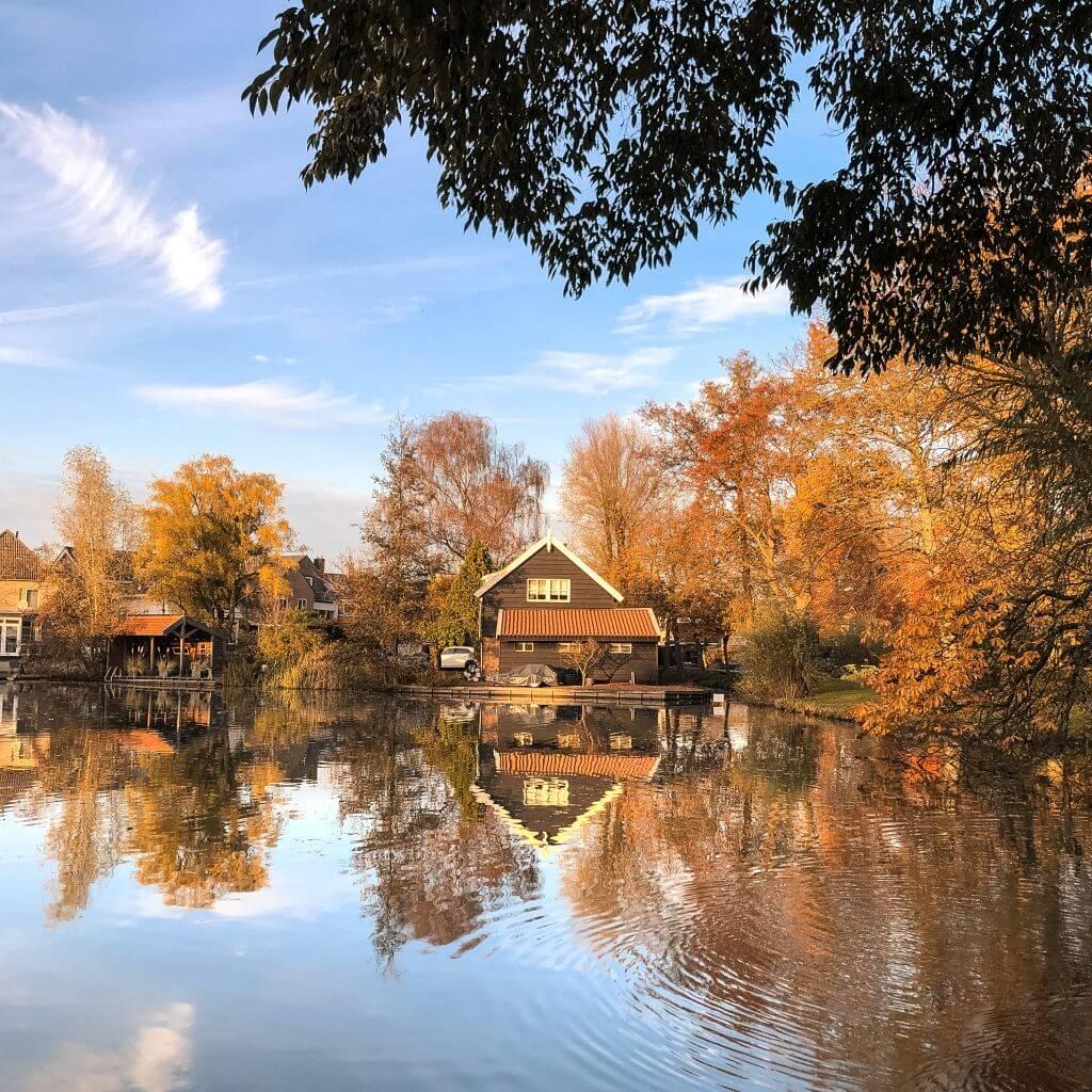 Reflecties in Hardinxveld