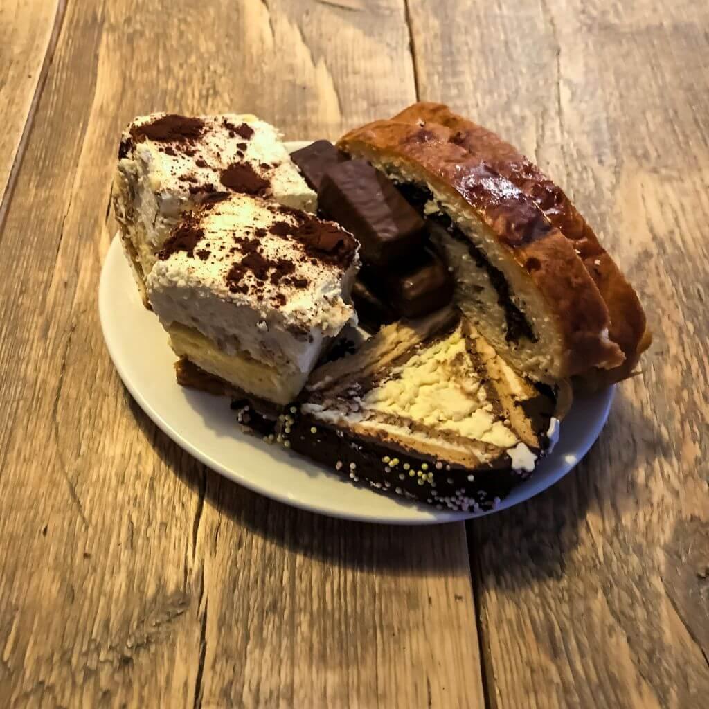 Poolse cake van de buren