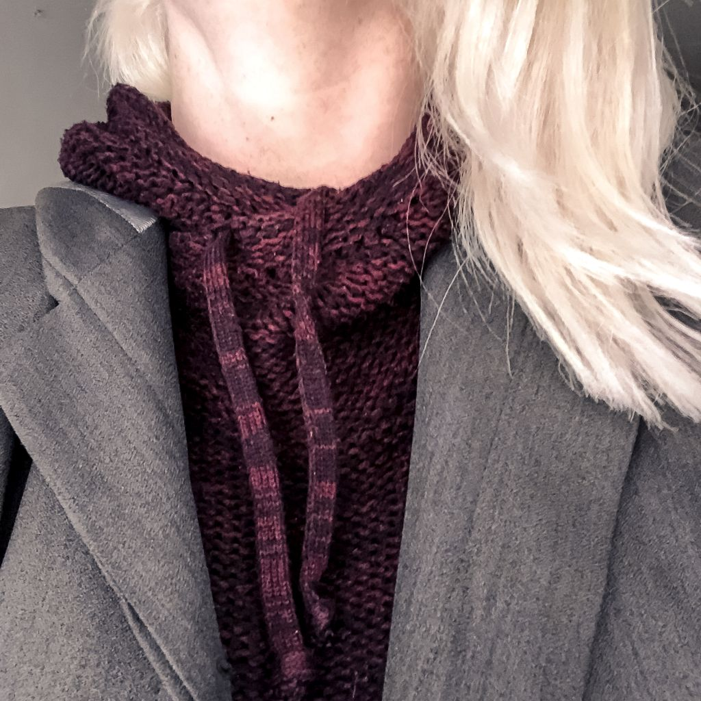 Outfit met blazer en hoodie