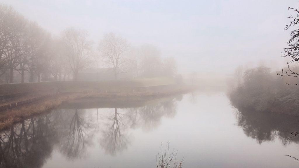 Mist boven de Oostgracht