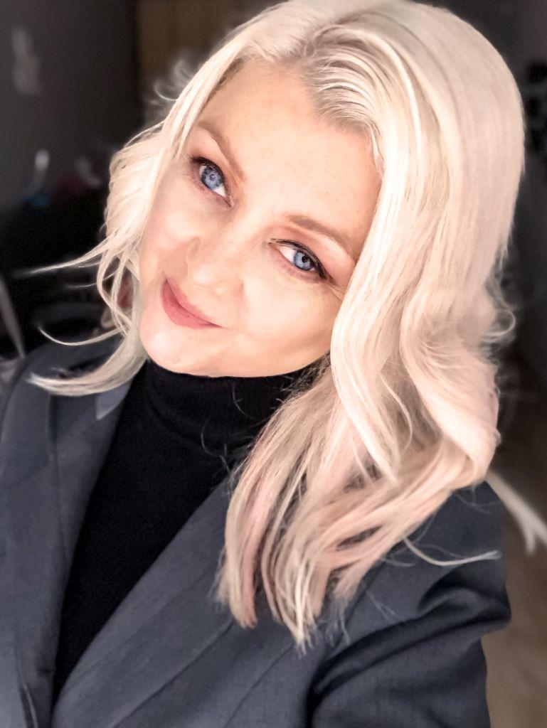 Eerste selfie van een 45-jarige