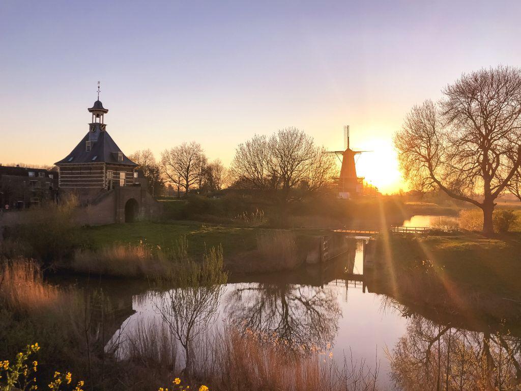 De Dalempoort en de molen