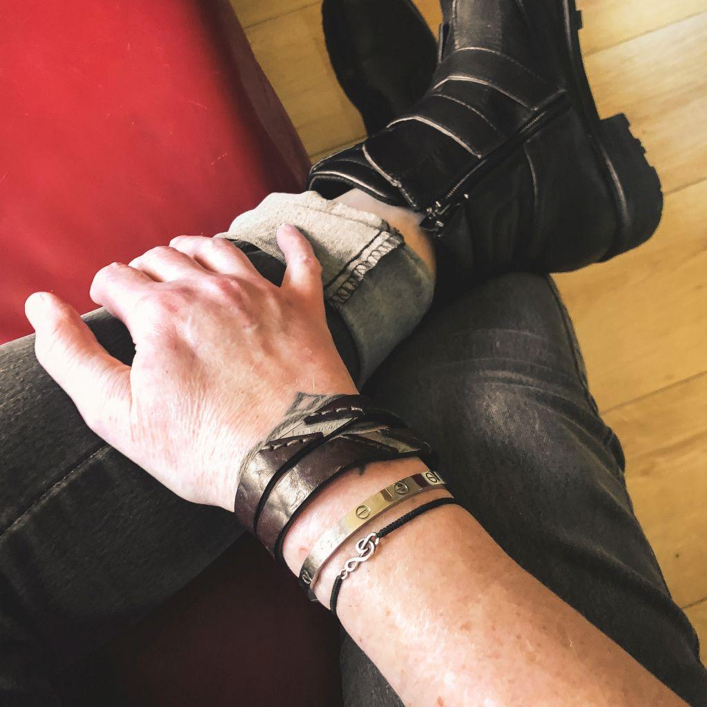 Herontdekt armbandje