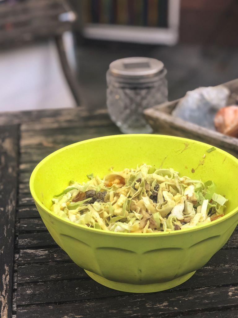 Spitskool-salade