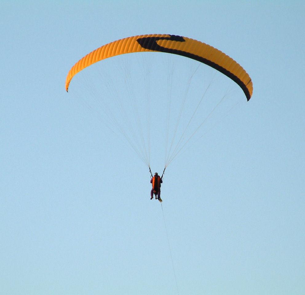 In de lucht!