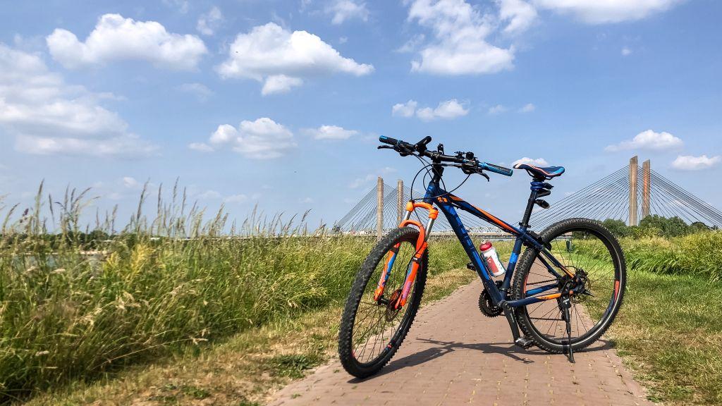 Mijn fiets in Zaltbommel