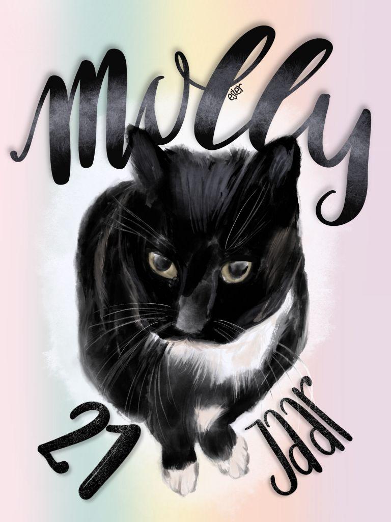 Molly 21 jaar
