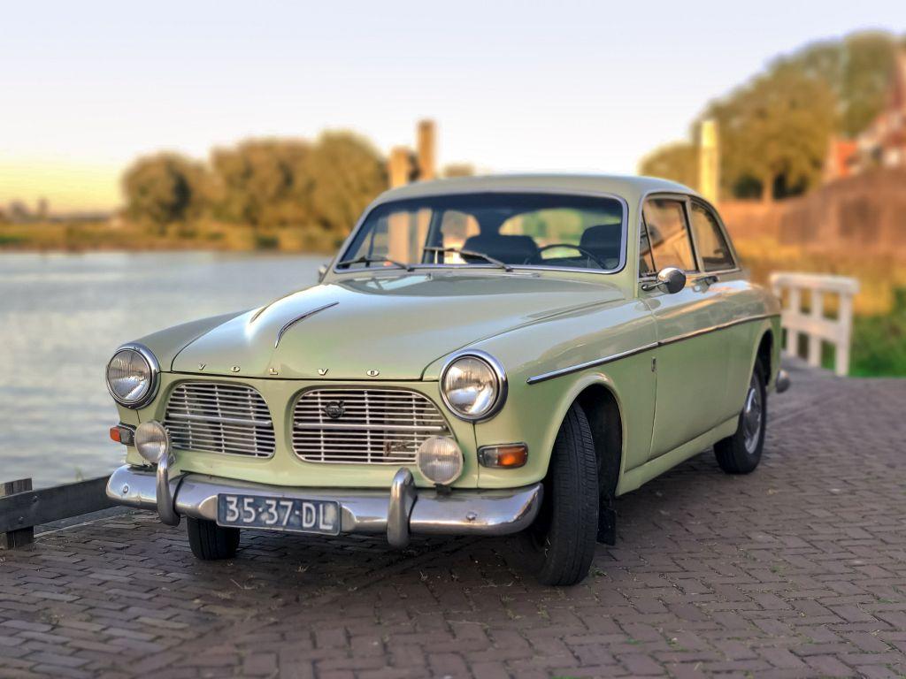 Een oude Volvo