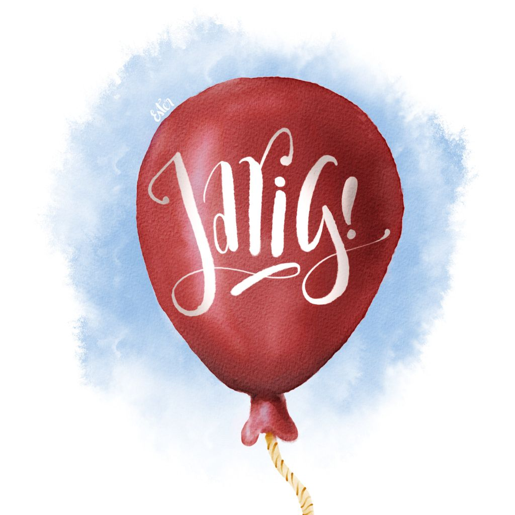 Ballon illustratie