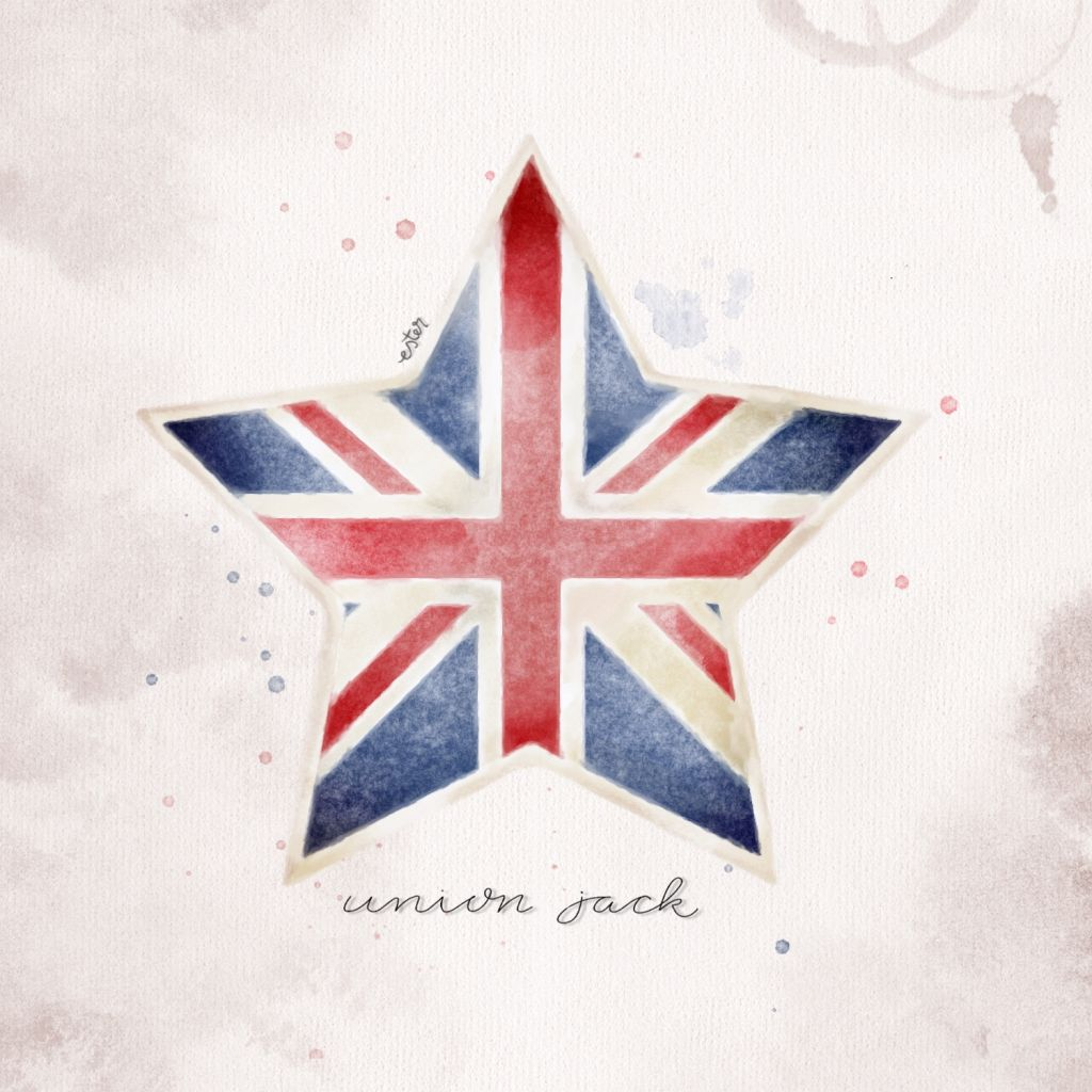 Union Jack illustratie
