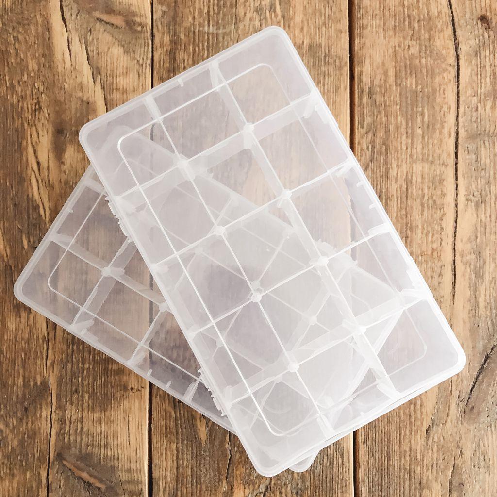 Nieuwe washi-boxen
