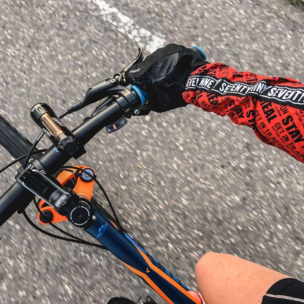 Eindelijk weer fietsen