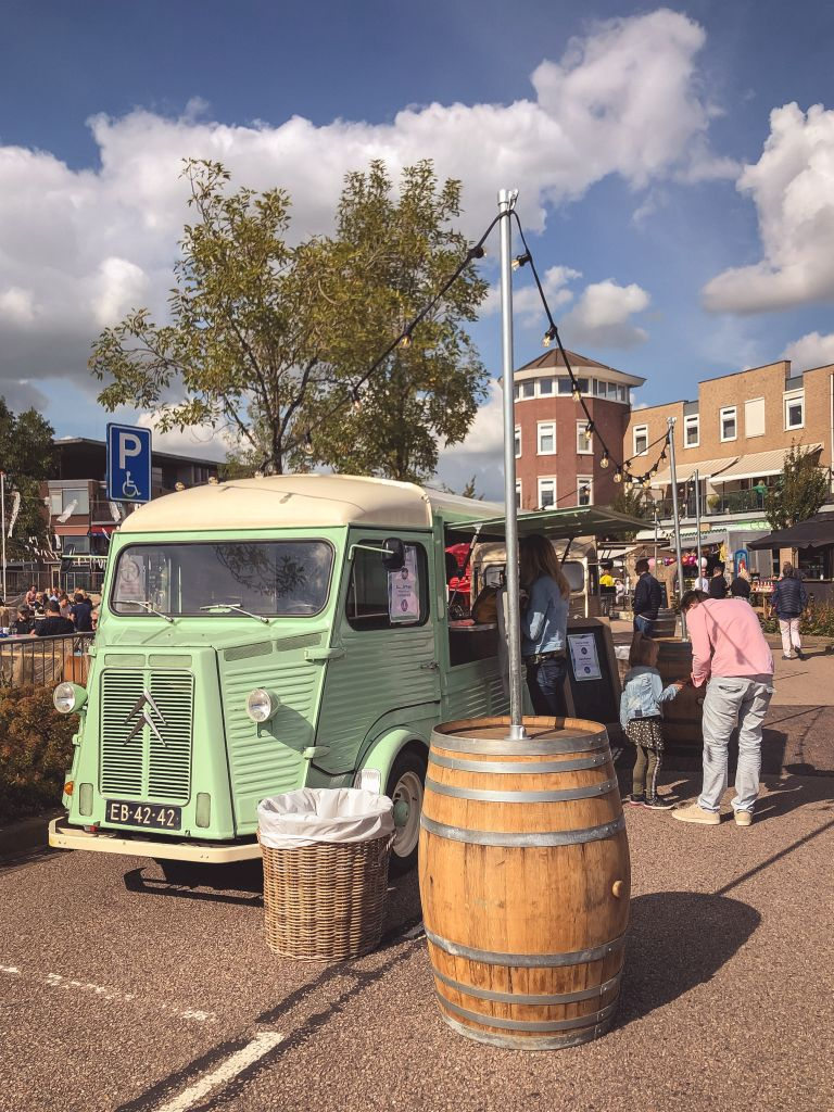 Foodfestival in Woudrichem