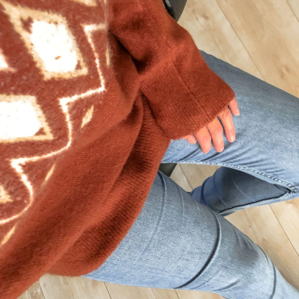 Nieuwe trui