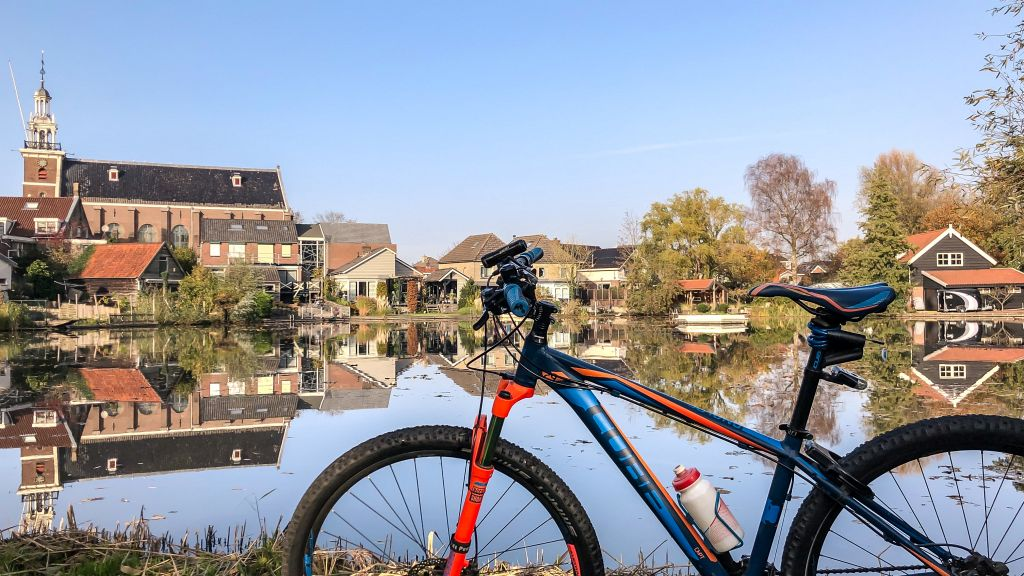 Met de fiets in Hardinxveld