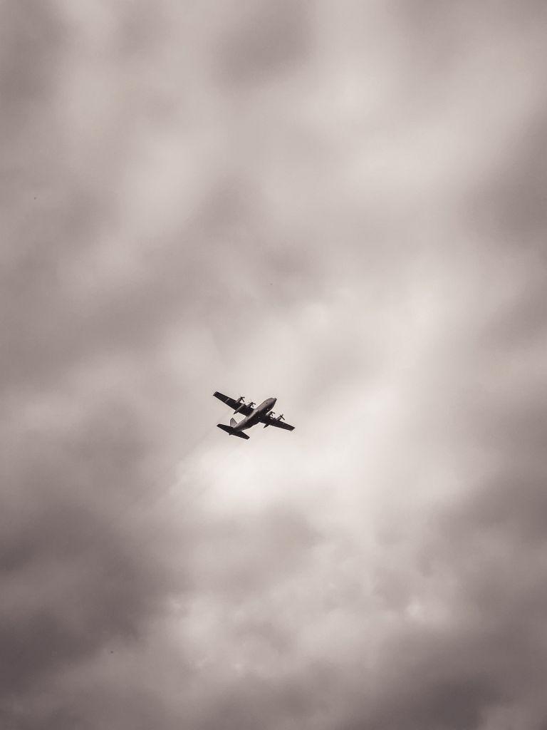 Hercules vliegtuig