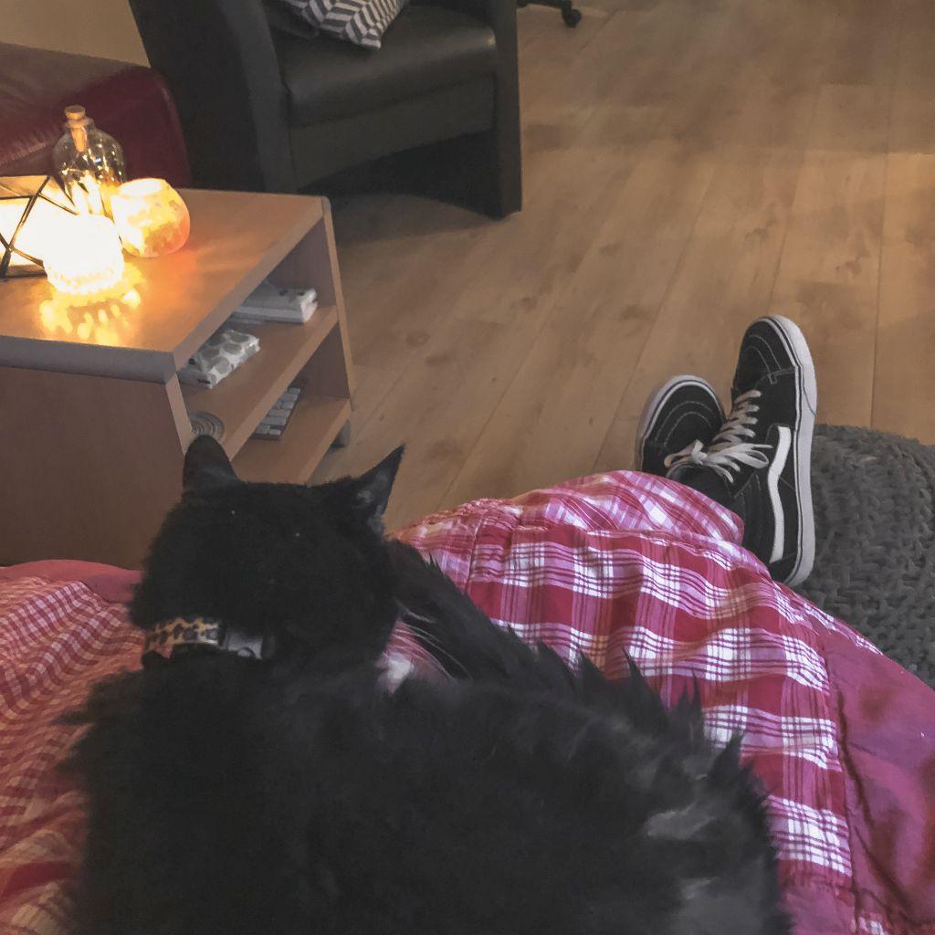 TV kijken met Molly