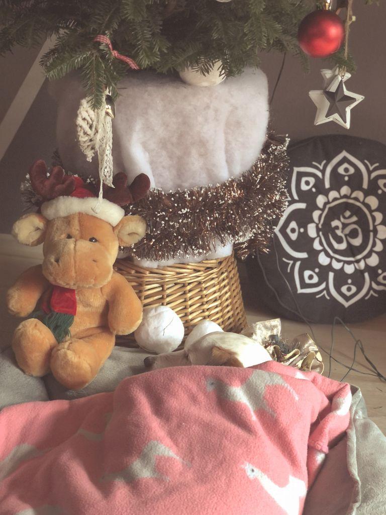 Slapen onder de kerstboom