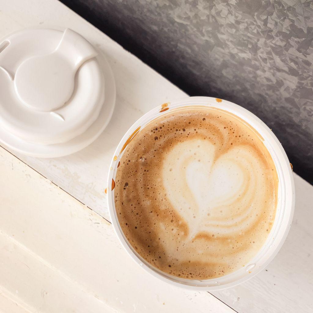 Koffie met een hartje
