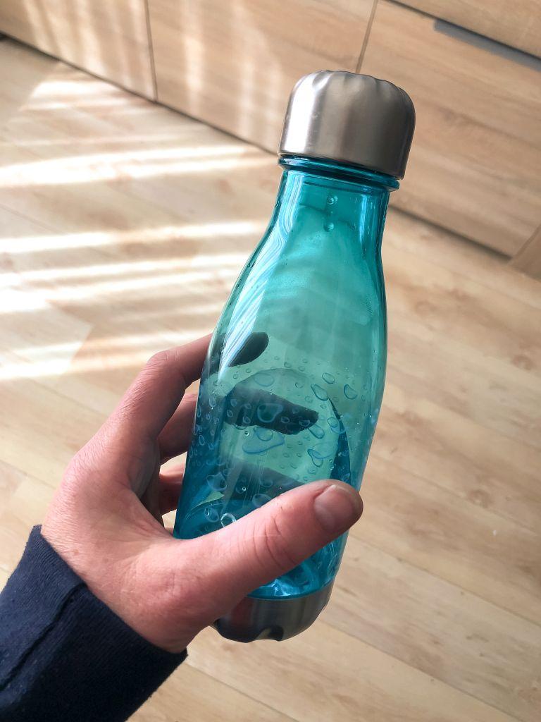 Leuk drinkflesje