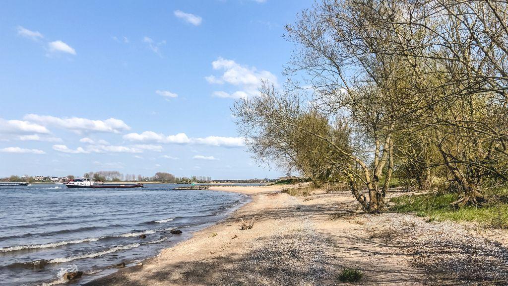 Strandje in Woudrichem