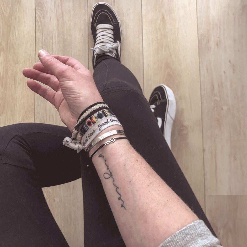 Mijn tattoo komt weer tevoorschijn