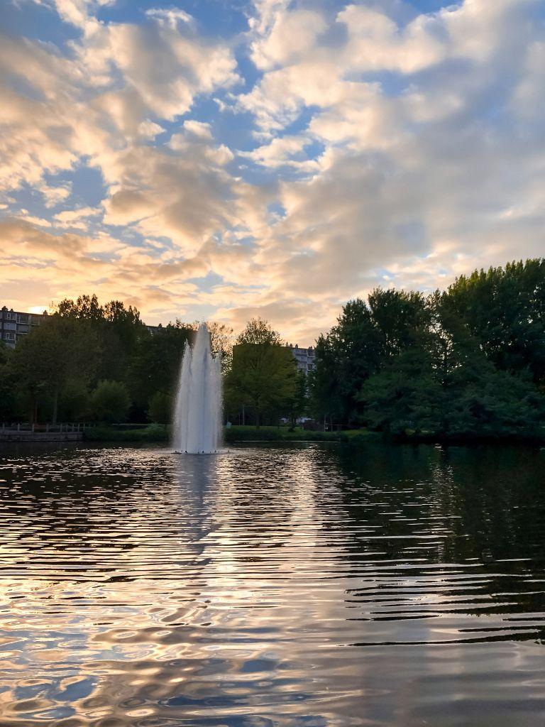 Fontein in het stadspark, Gorinchem