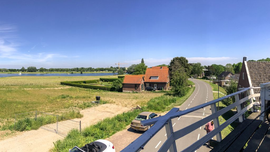 Uitzicht over de Maas
