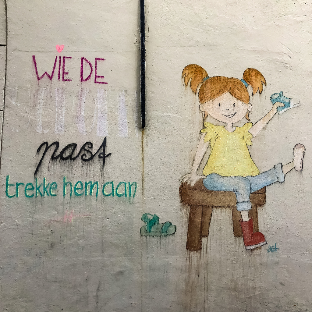 Toffe street art