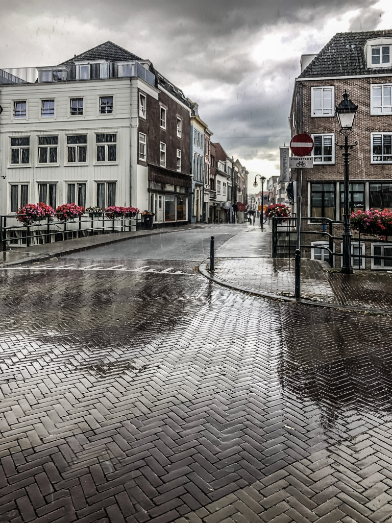 Regen in de stad