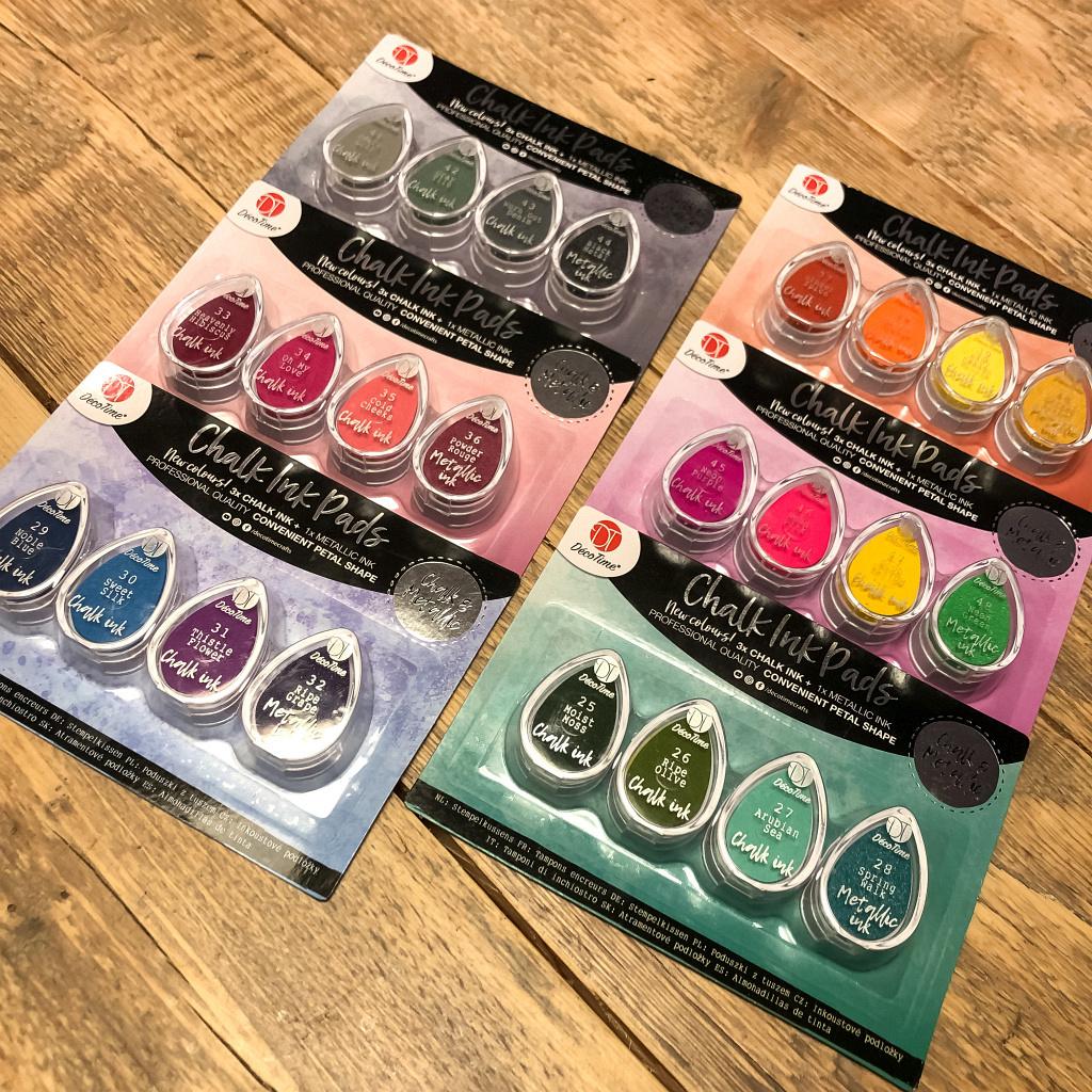 Chalk ink pads