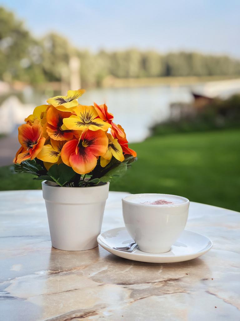 Koffie met uitzicht