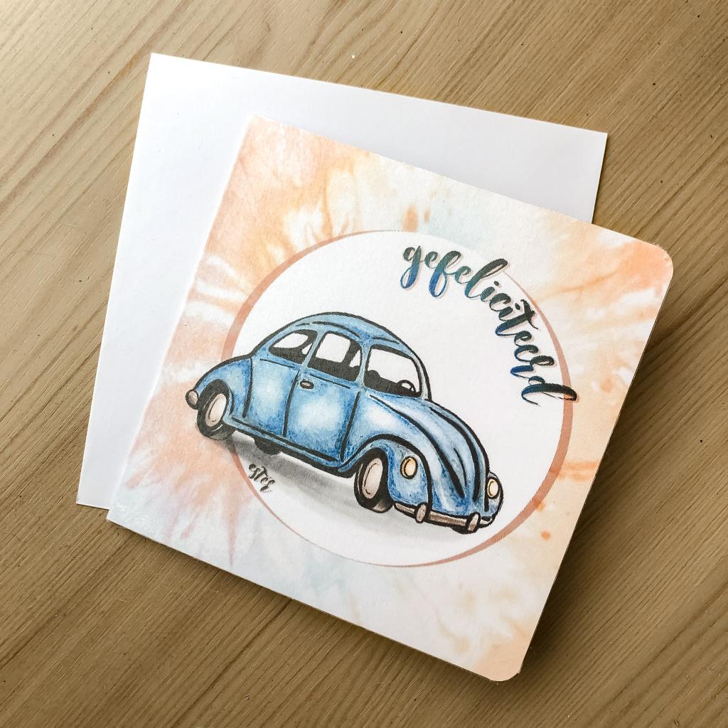Kever-kaartje