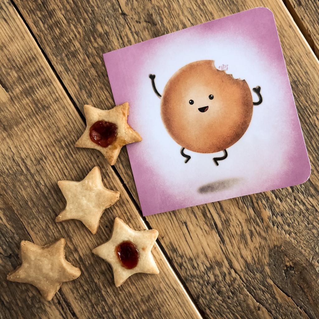 Kaartje en koekjes