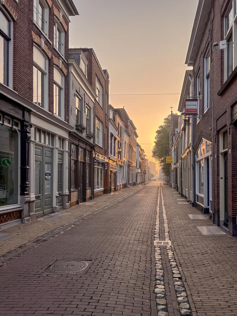 Doorkijkje in de Burgstraat